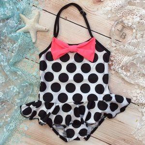 Other - Toddler Girl Polkadot Swimsuit